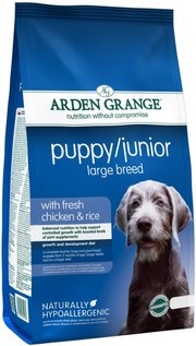 Arden Grange Puppy Junior Large Breed Chicken/Rice фото