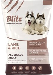 Blitz Adult All Breeds Lamb/Rice фото
