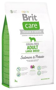 Brit Корм для собак Care Adult Large Breed Salmon & Potato фото