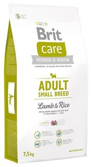 Brit Корм для собак Care Adult Small Breed Lamb & Rice фото