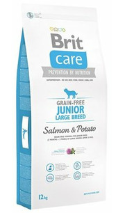 Brit Корм для собак Care Junior Large Breed Salmon & Potato фото