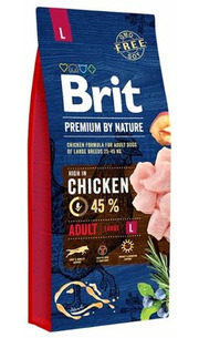 Brit Корм для собак Premium by Nature Adult L фото