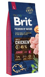 Brit Корм для собак Premium by Nature Junior L фото