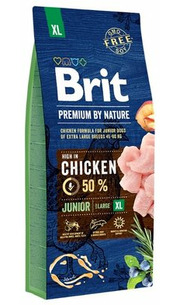 Brit Корм для собак Premium by Nature Junior XL фото