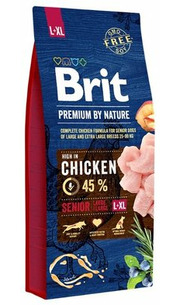 Brit Корм для собак Premium by Nature Senior L+XL фото