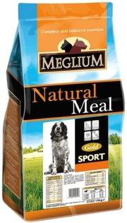 Meglium Natural Meal Adult Sport Gold фото