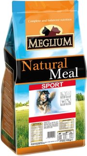 Meglium Natural Meal Adult Sport фото