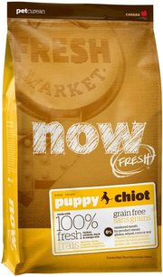 NOW Fresh Puppy Dog Grain Free Food Recipe фото